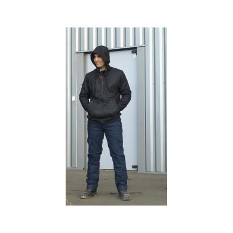 Sweatshirt capuche TYPHON+ noir