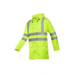 veste de pluie haute-visibilité monoray