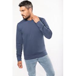 Sweat-shirt écoresponsable à col rond mixte