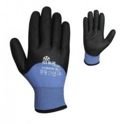 Gant protection froid déperlant ICE BLUE