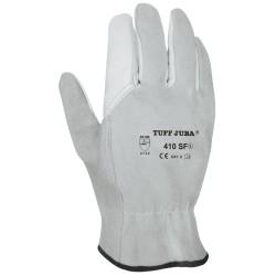 gants cuir fleur