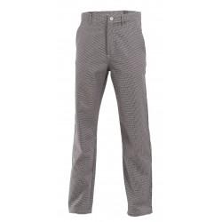 Pantalon de cuisine pied de poule