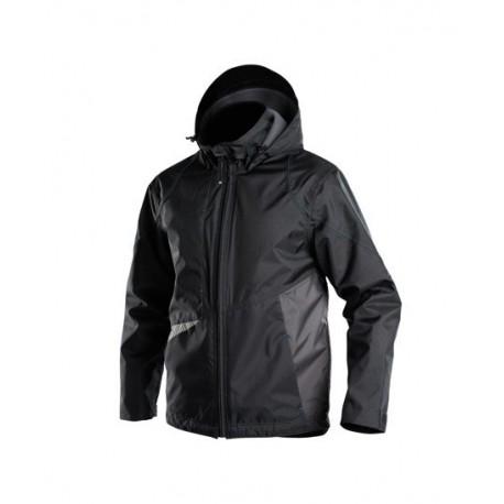 veste imperméable hyper noir