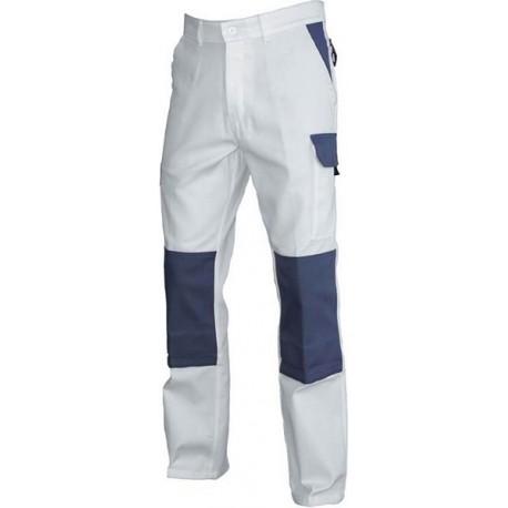 pantalon typhon blanc gris