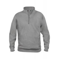 Sweatshirt col zippé BASIC