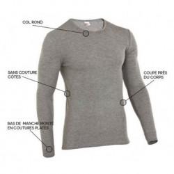 t-shirt thermique damartpro