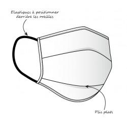 Masque coton lavable C-AIR