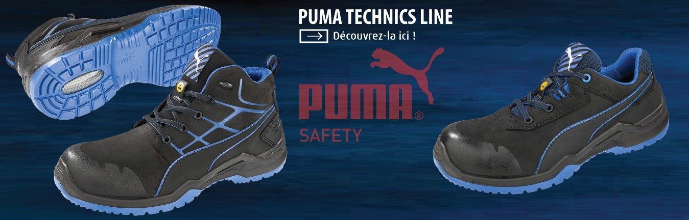 Chaussures Puma Safety Krypton Argon