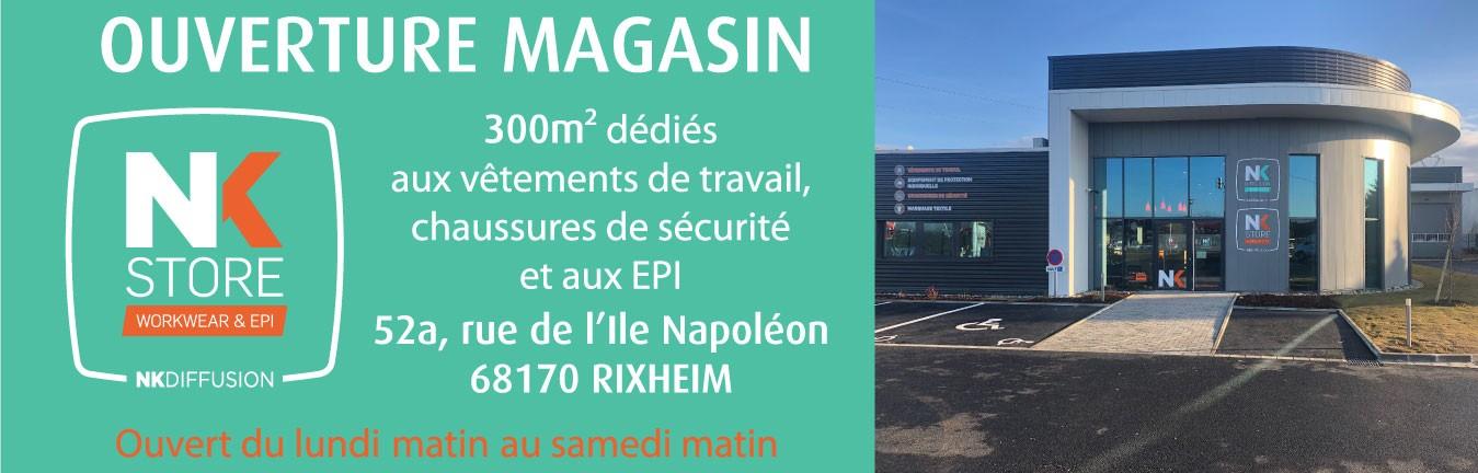 Ouverture Magasin Rixheim