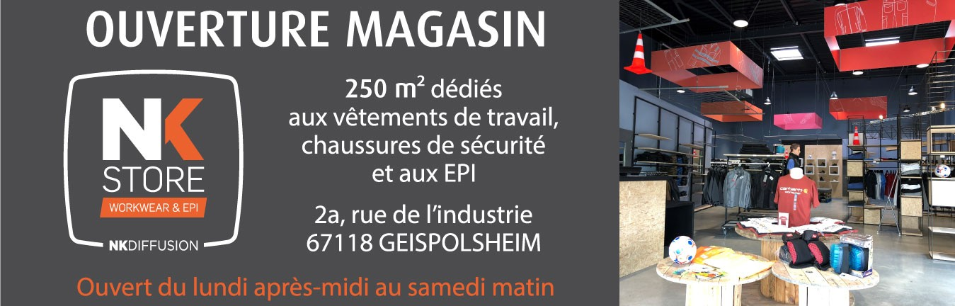 Ouverture magasin Geispolsheim